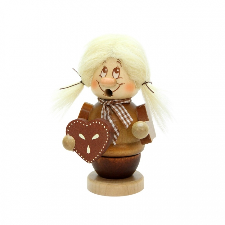 Räuchermännchen <br>»Miniwichtel - Gretel« <br>12,5 cm