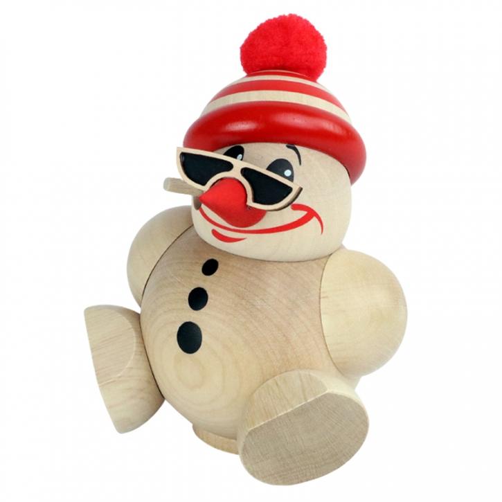 Kugelräucherfigur <br>»Cool Man mit Mütze« <br>10 cm