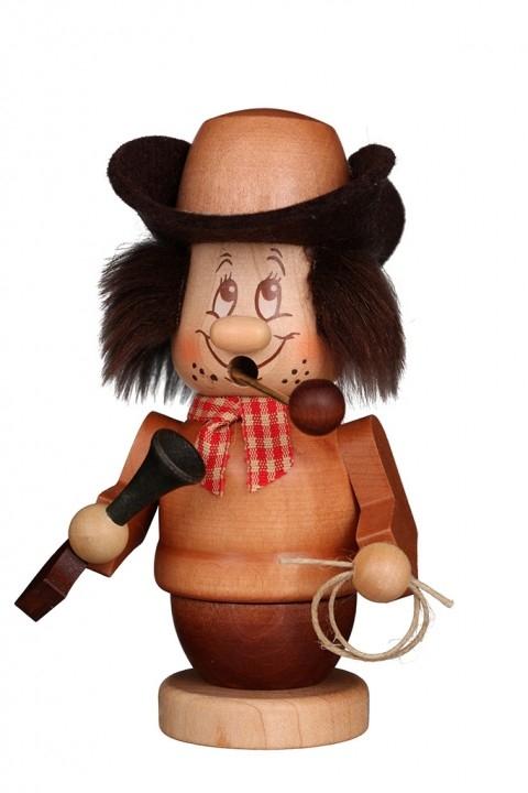 Räuchermännchen <br>»Miniwichtel - Cowboy« <br>14 cm