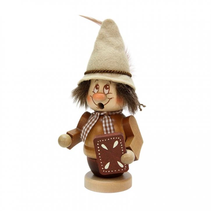 Smoking figure <br>»Miniature gnome - Hansel« <br>16cm