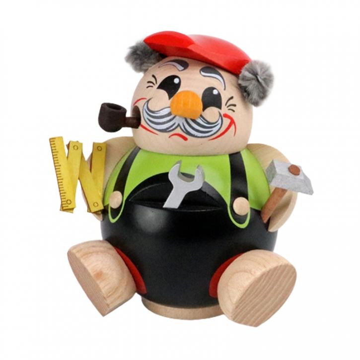 Kugelräucherfigur <br>»Heimwerker« <br>11 cm