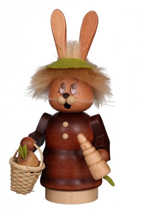 Räuchermännchen <br>»Miniwichtel - Häsin mit Karotte« <br>16,5 cm