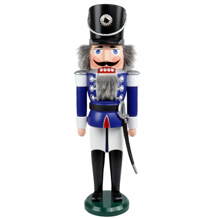 Nutcracker <br>»Hussar - blue« <br>50cm