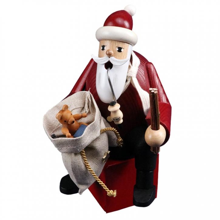 Räuchermännchen <br>»Kantenhocker - Weihnachtsmann« <br>16 cm