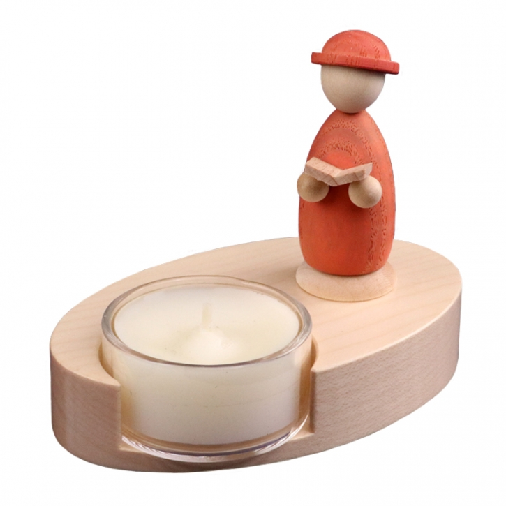 Teelichthalter <br>»LIGNULUM Codex - salmar«