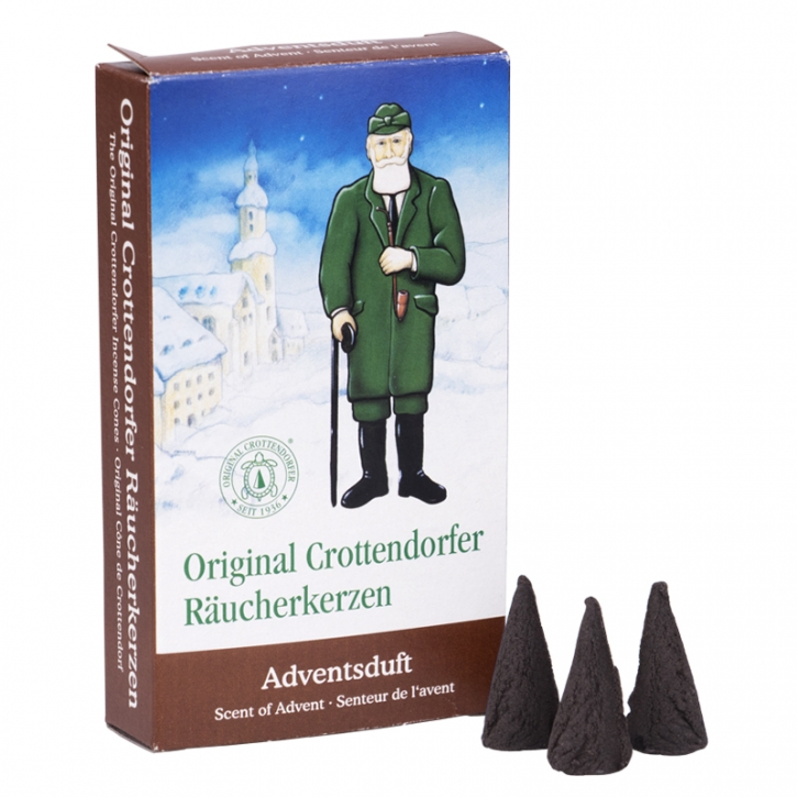 Incense cone <br> »Scent of Advent« <br> Size M