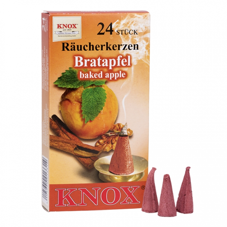 Incense cone <br> »Baked Apple« <br> Size M