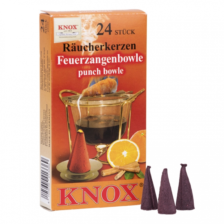 Incense cone <br> »Fiery-tong Punch« <br> Size M