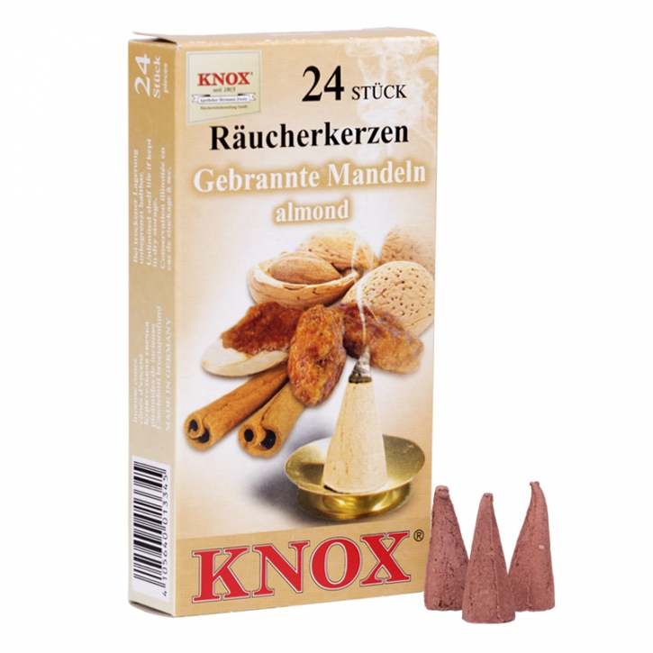 Incense cone <br> »Roasted Almonds« <br> Size M