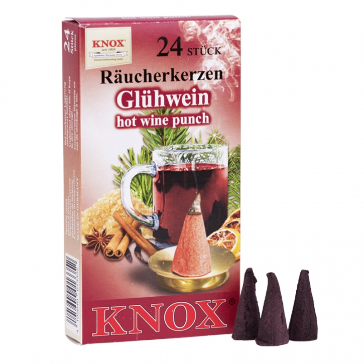 Incense cone <br> »Hot wine Punch« <br> Size M