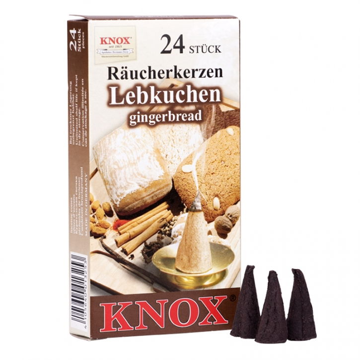 Incense cone <br> »Gingerbread« <br> Size M