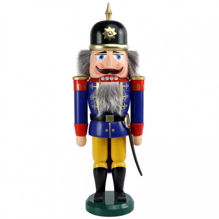 Nussknacker <br>»Soldat - blau« <br>37 cm