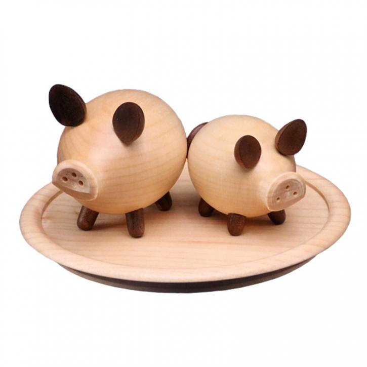 Streuergarnitur <br>»Salzschweine«