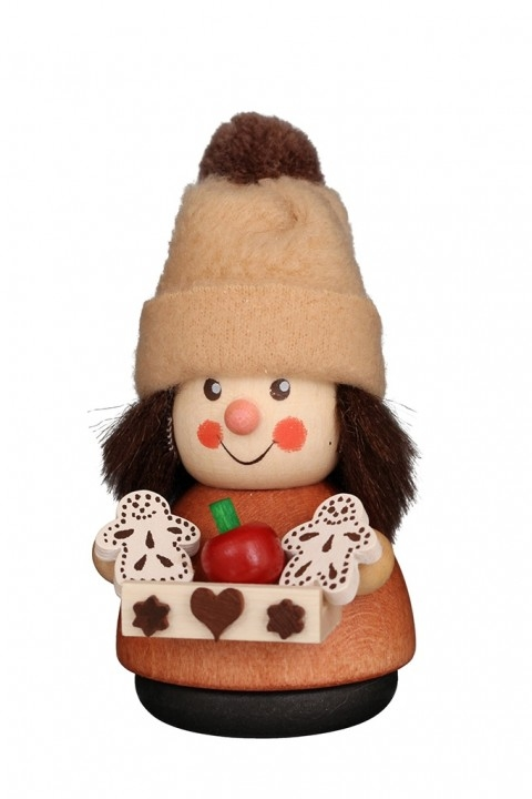Wobble figure <br>»gingerbread vendor - natural«