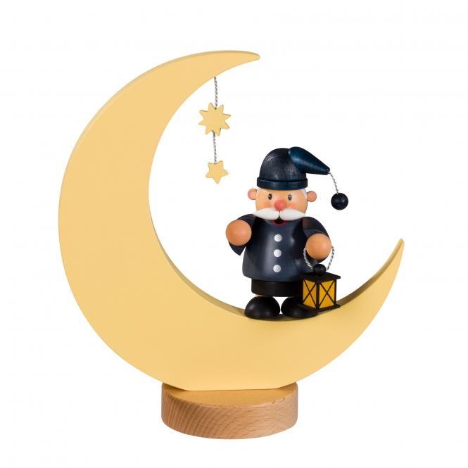 Räuchermännchen <br>»Kleine Kerle - Mann im Mond« <br>23 cm