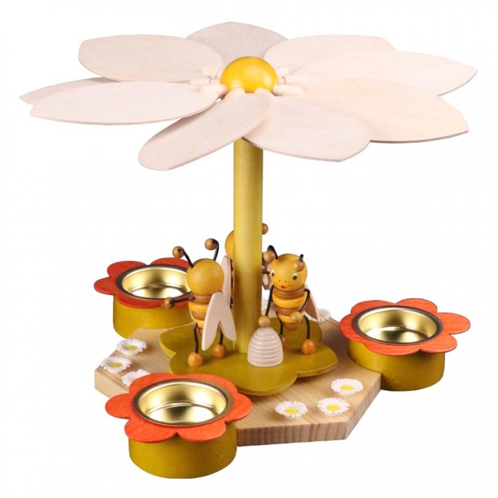 Frühlingspyramide <br>»Bienen« <br>19 cm
