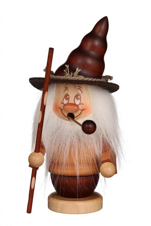 Räuchermännchen <br>»Miniwichtel mit Stab« <br>16,5 cm