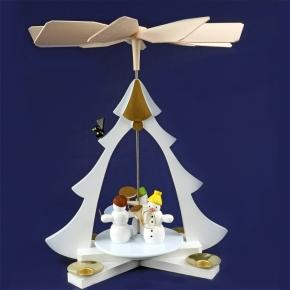 Schneemannpyramide <br>»Schneemänner« <br>28 cm